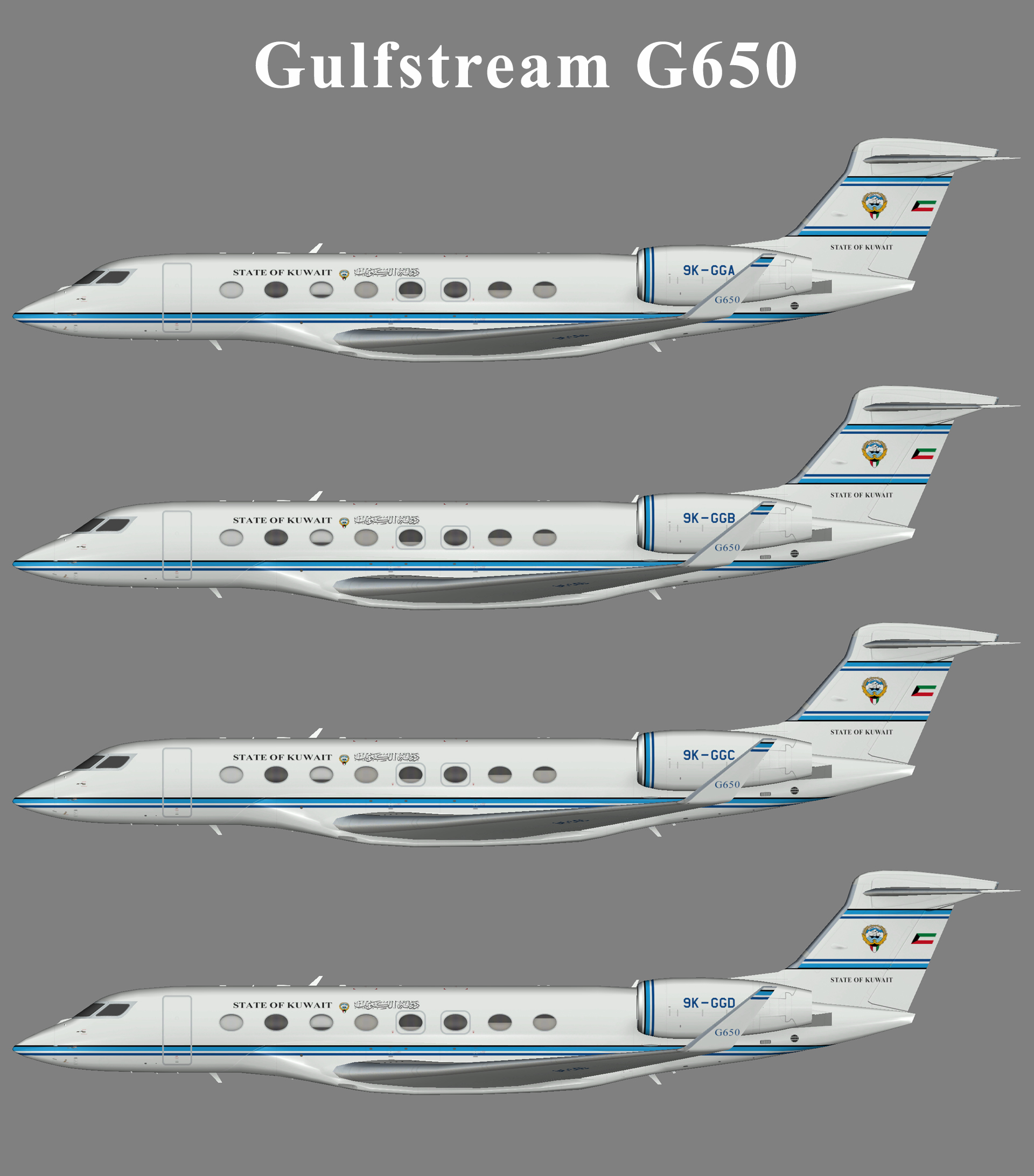 State of Kuwait Gulfstream G650
