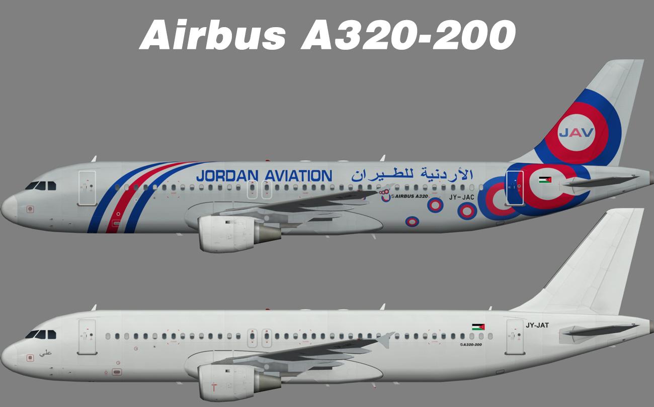 Jordan Aviation Airbus A320-200 – Nils