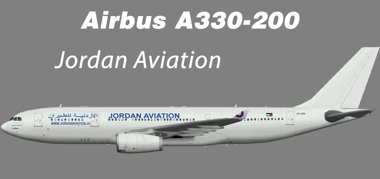 Jordan Aviation Airbus A330-200 – Nils