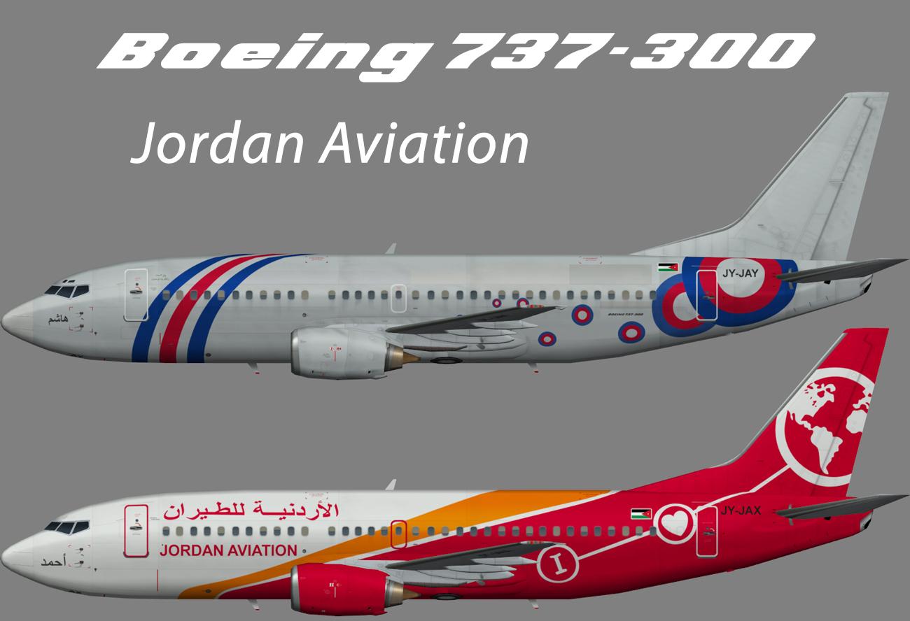 Jordan Aviation Boeing 737-300 – Nils