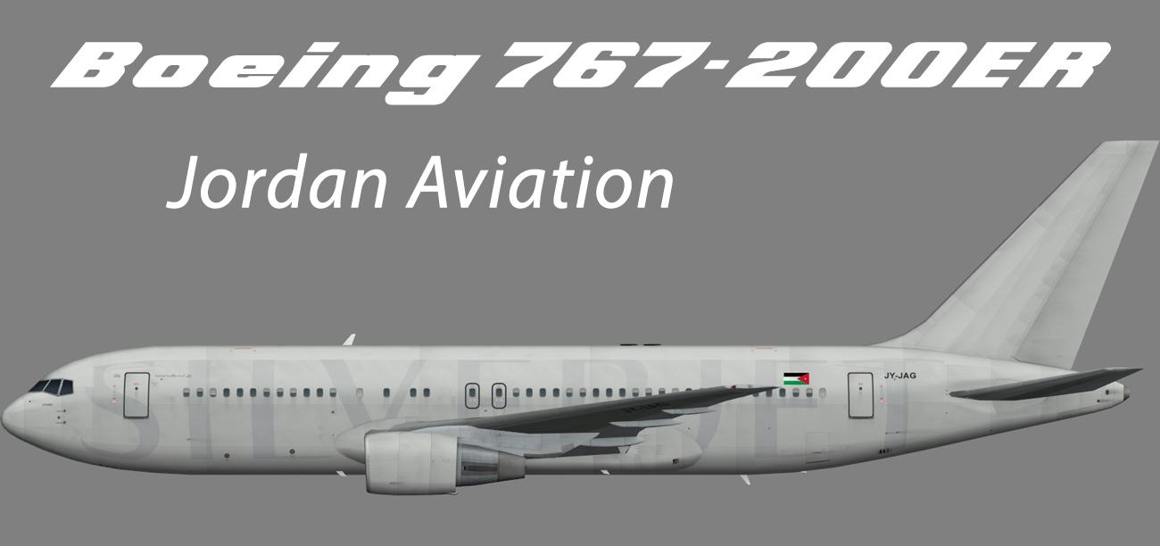 Jordan Aviation Boeing 767-200ER – Nils
