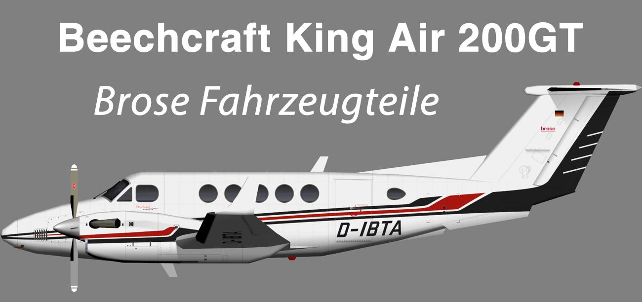 Brose Fahrzeugteile Beechcraft King Air 200GT – Nils