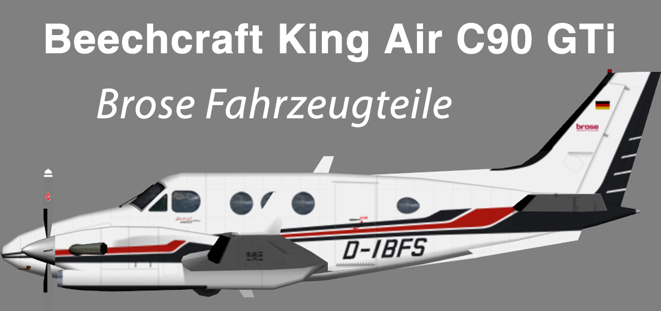 Brose Fahrzeugteile Beechcraft King Air C90GTi – Nils