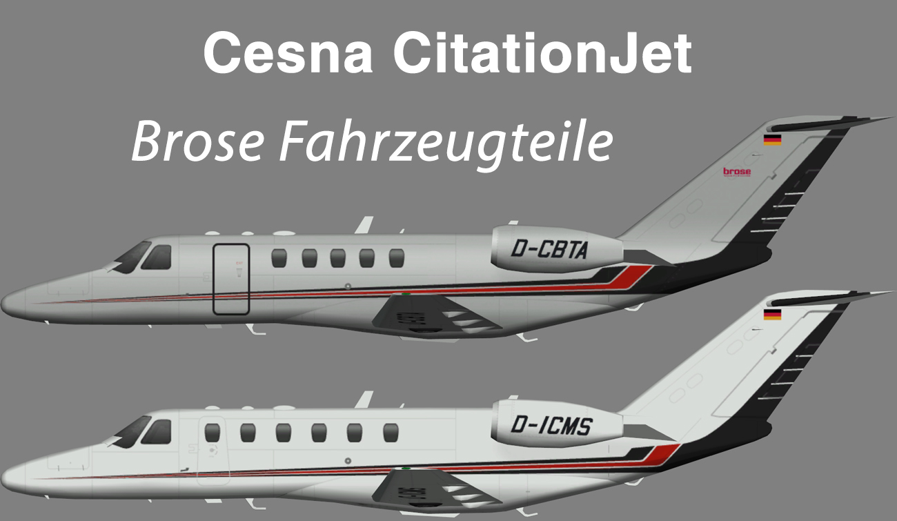 Brose Fahrzeugteile Cessna CitationJet – Nils