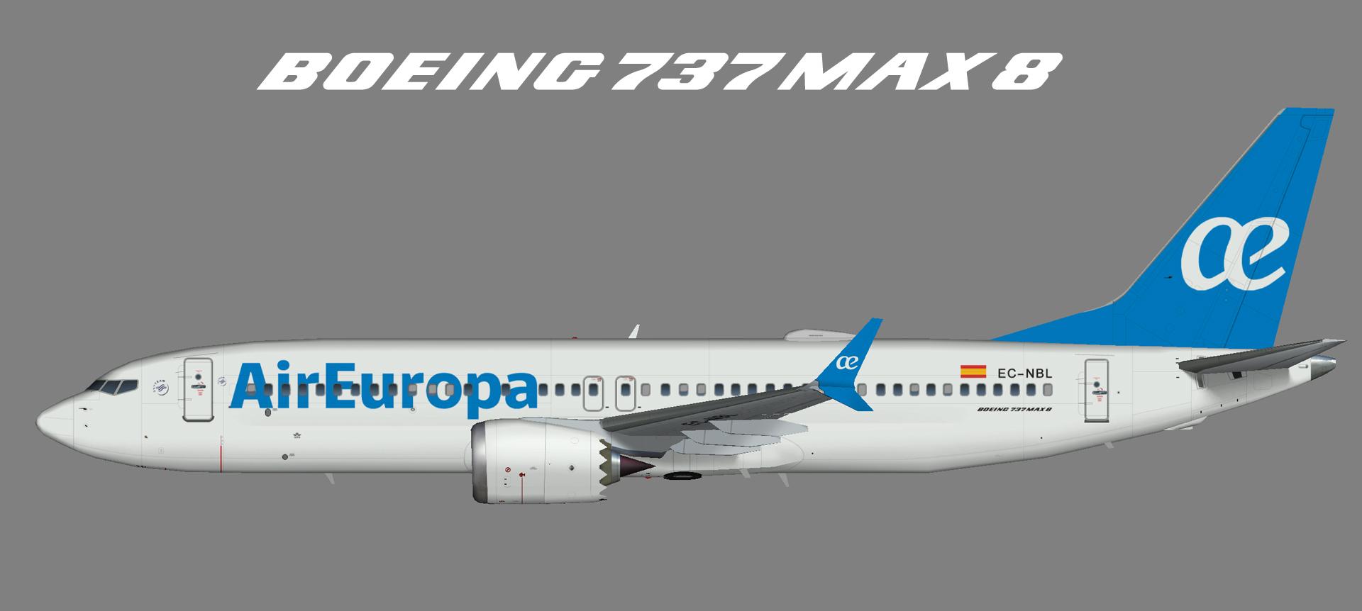 Air Europa Boeing 737 MAX 8