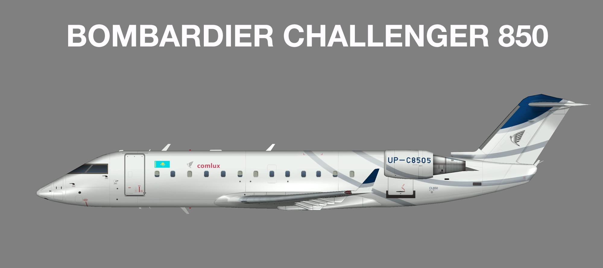 Comlux KZ Bombardier Challenger 850