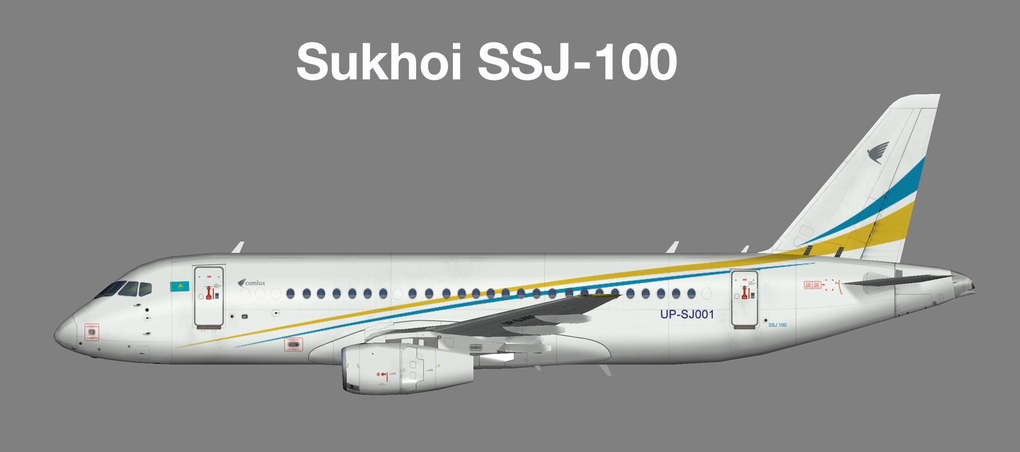 Comlux KZ Sukhoi SSJ-100