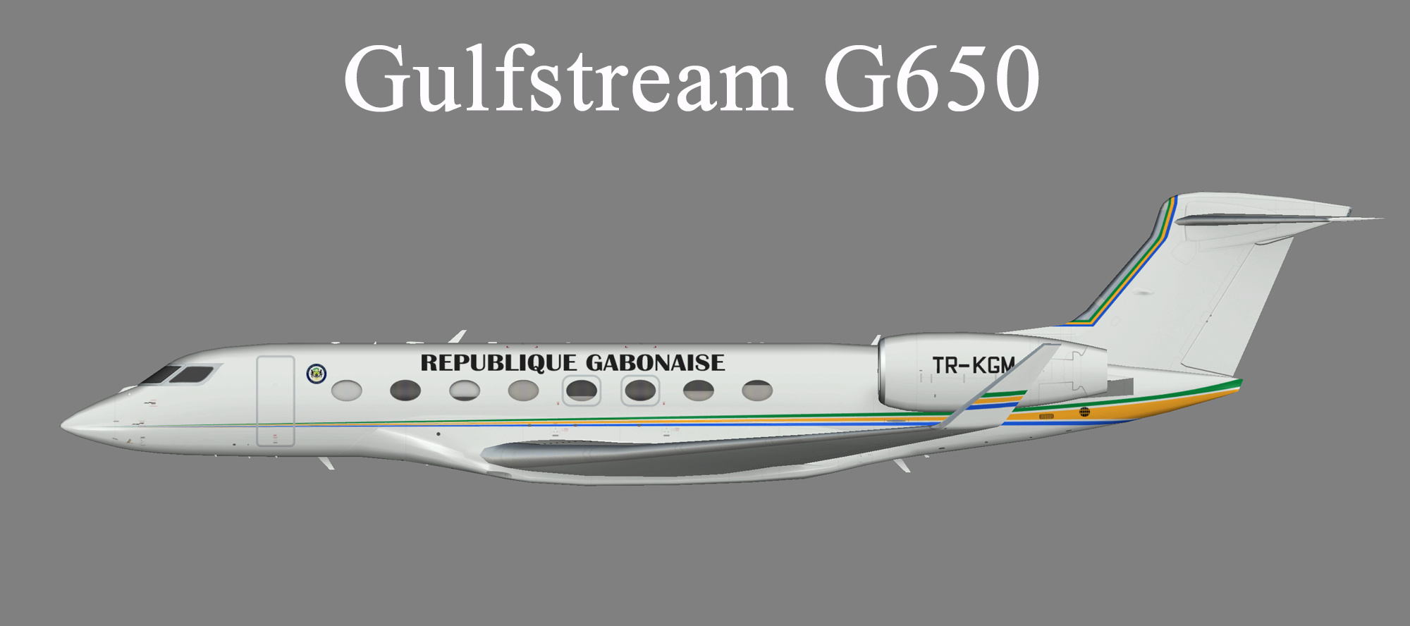 Gabon Government Gulfstream G650