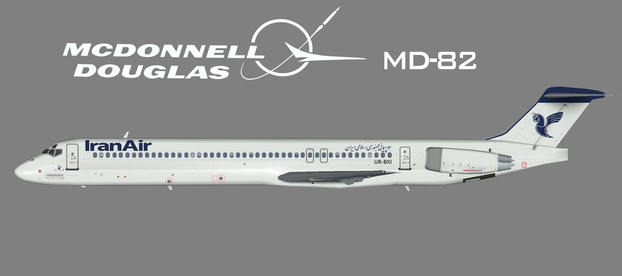 Iran Air McDonnell Douglas MD82