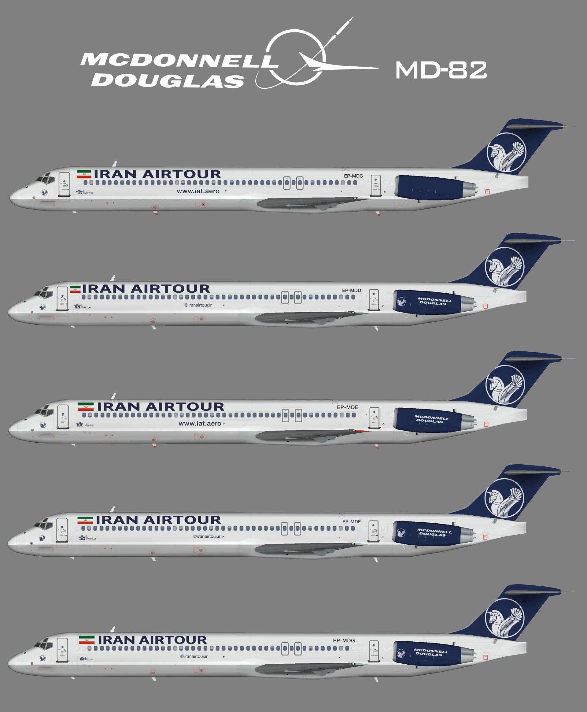 Iran Airtour McDonnell Douglas MD-82