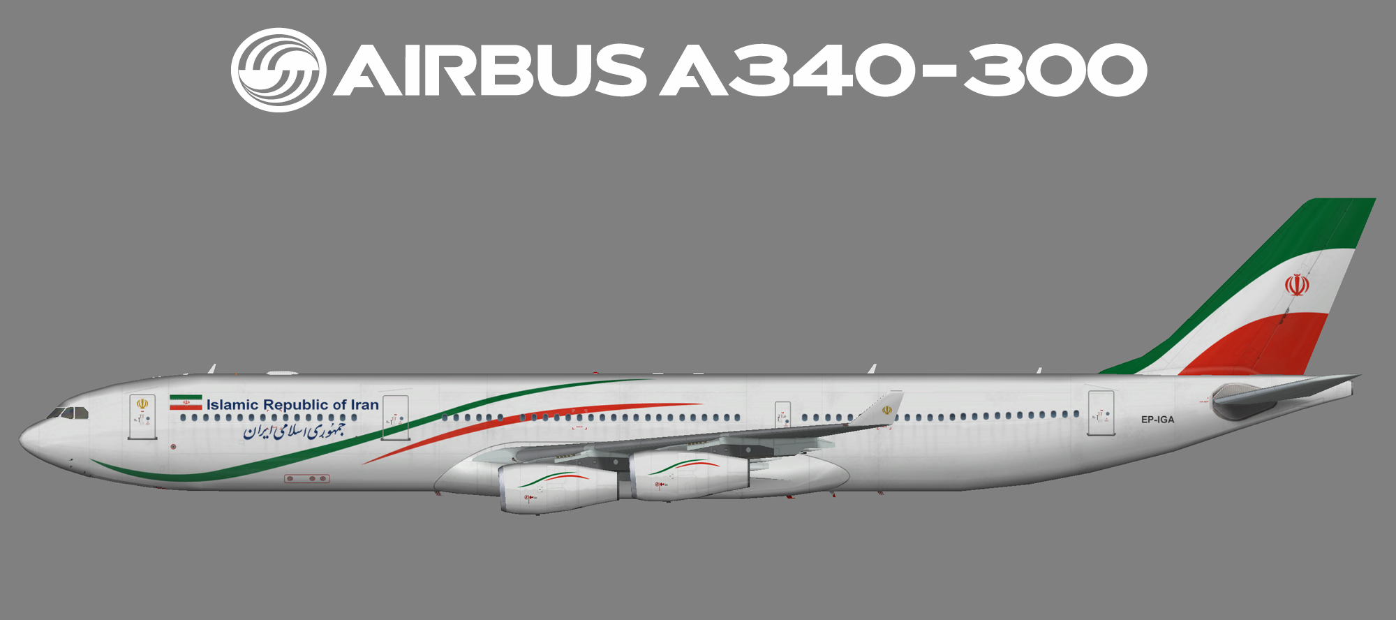 Islamic Republic of Iran Airbus A340-300