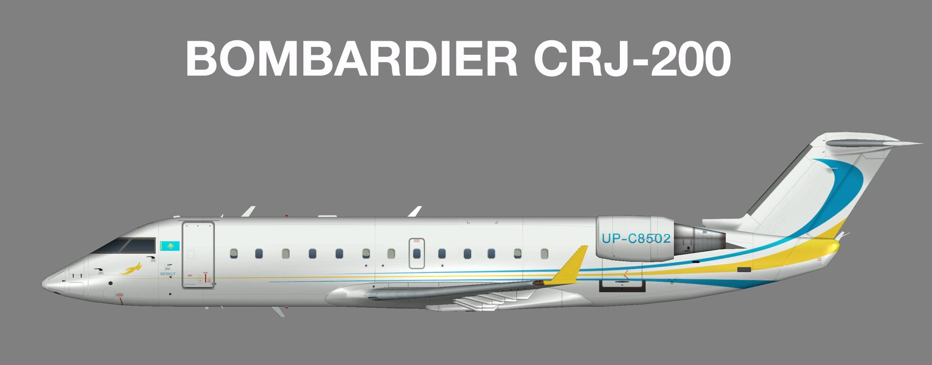 Kazakhstan Government Bombardier CRJ-200