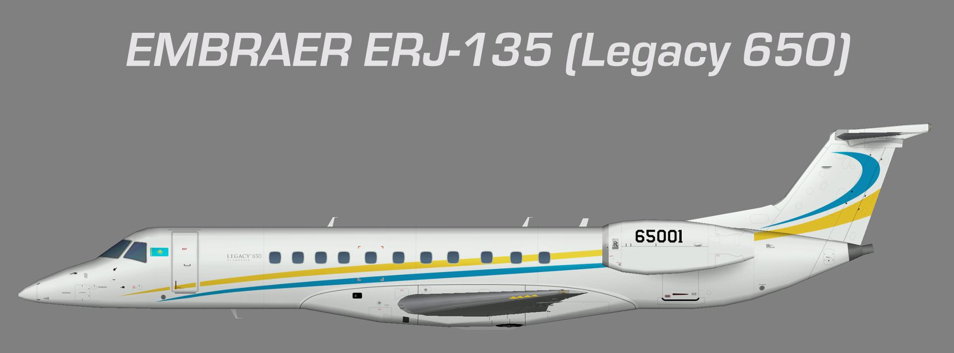 Kazakhstan National Guard Embraer ERJ-135 (Legacy 650)