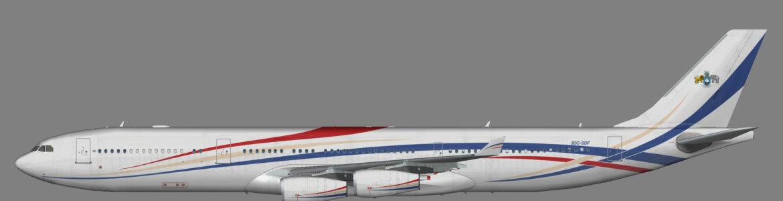 Kingdom of Eswatini A340-300