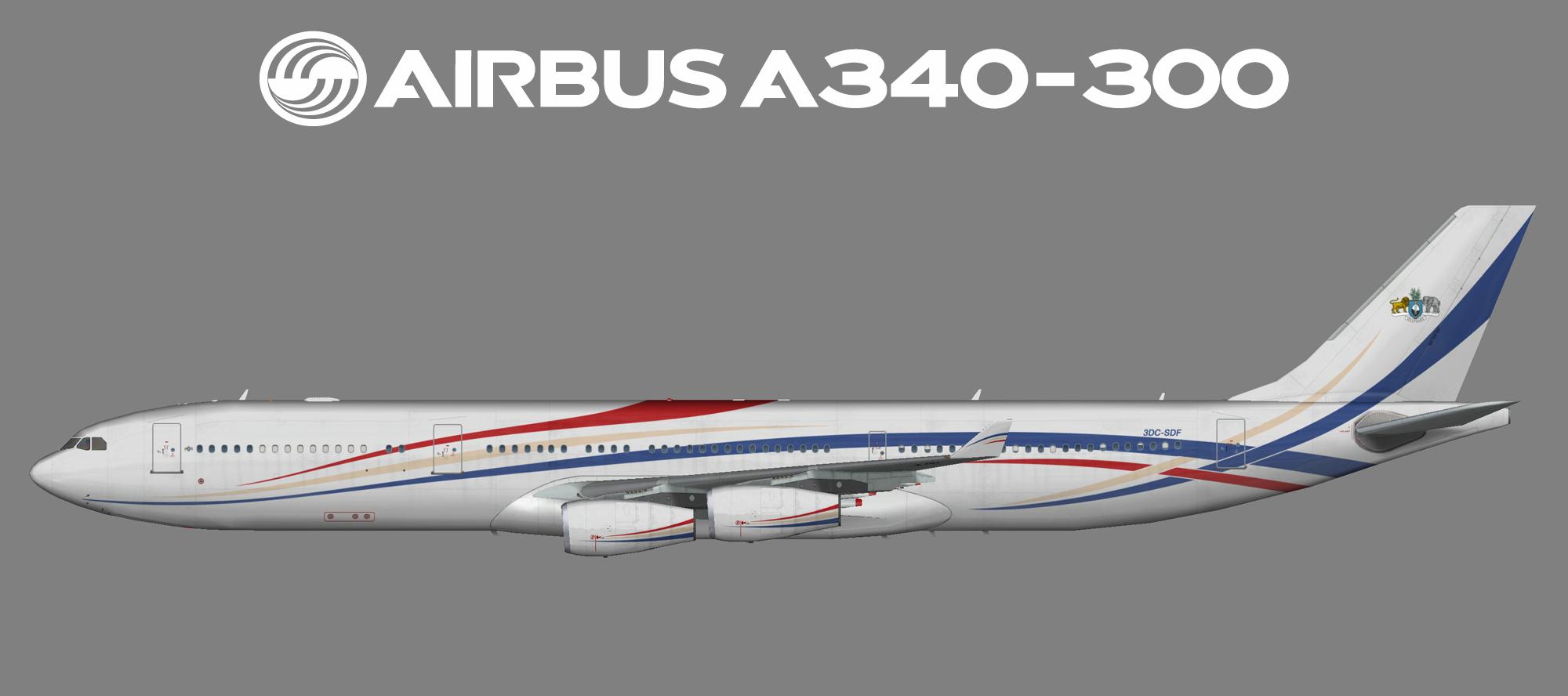 Kingdom of Eswatini Airbus A340-300