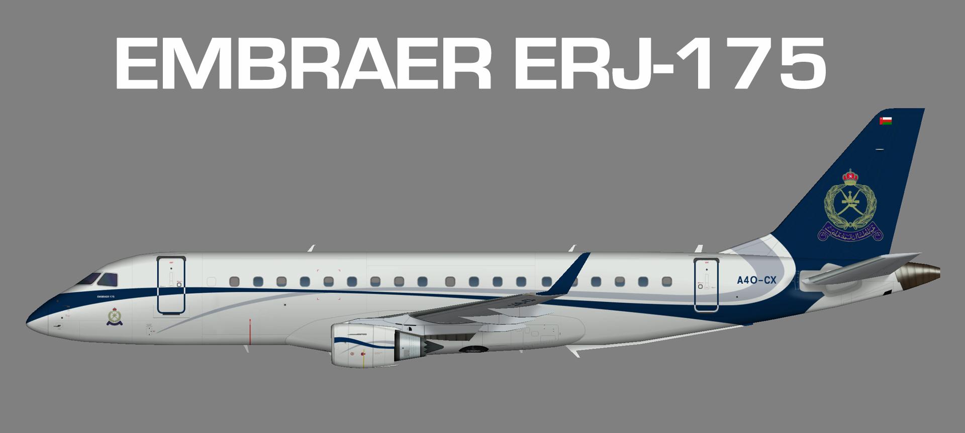 Embraer  ERJ-175 Oman Royal Police