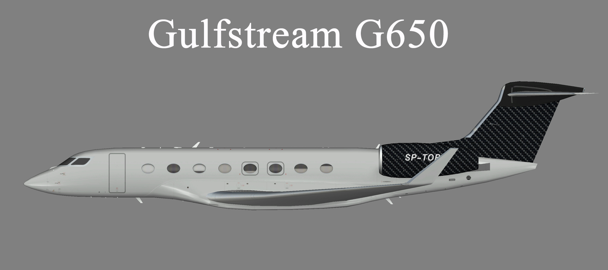Jet Story Gulfstream G650 (SP-TOP)
