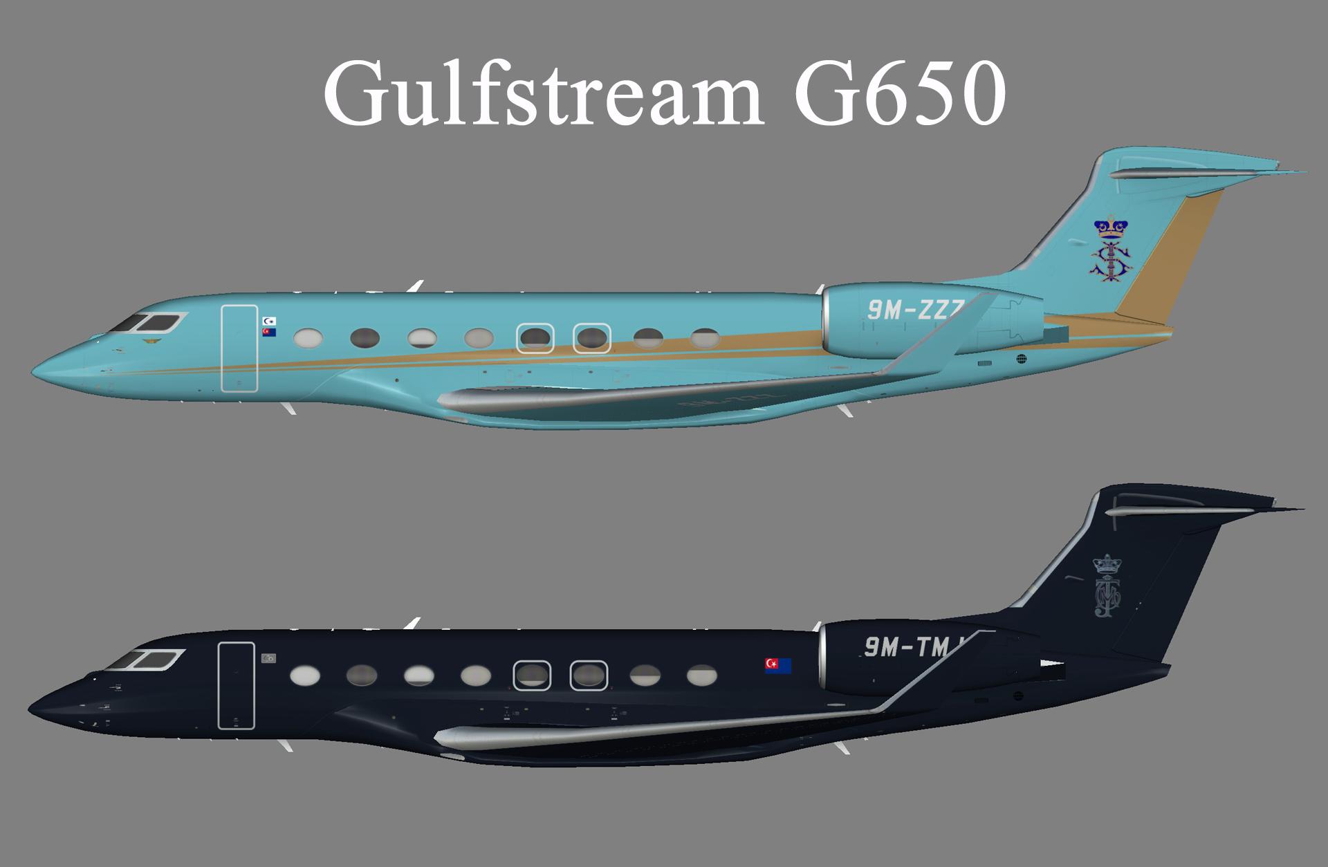 Sultan of Johor Gulfstream G650