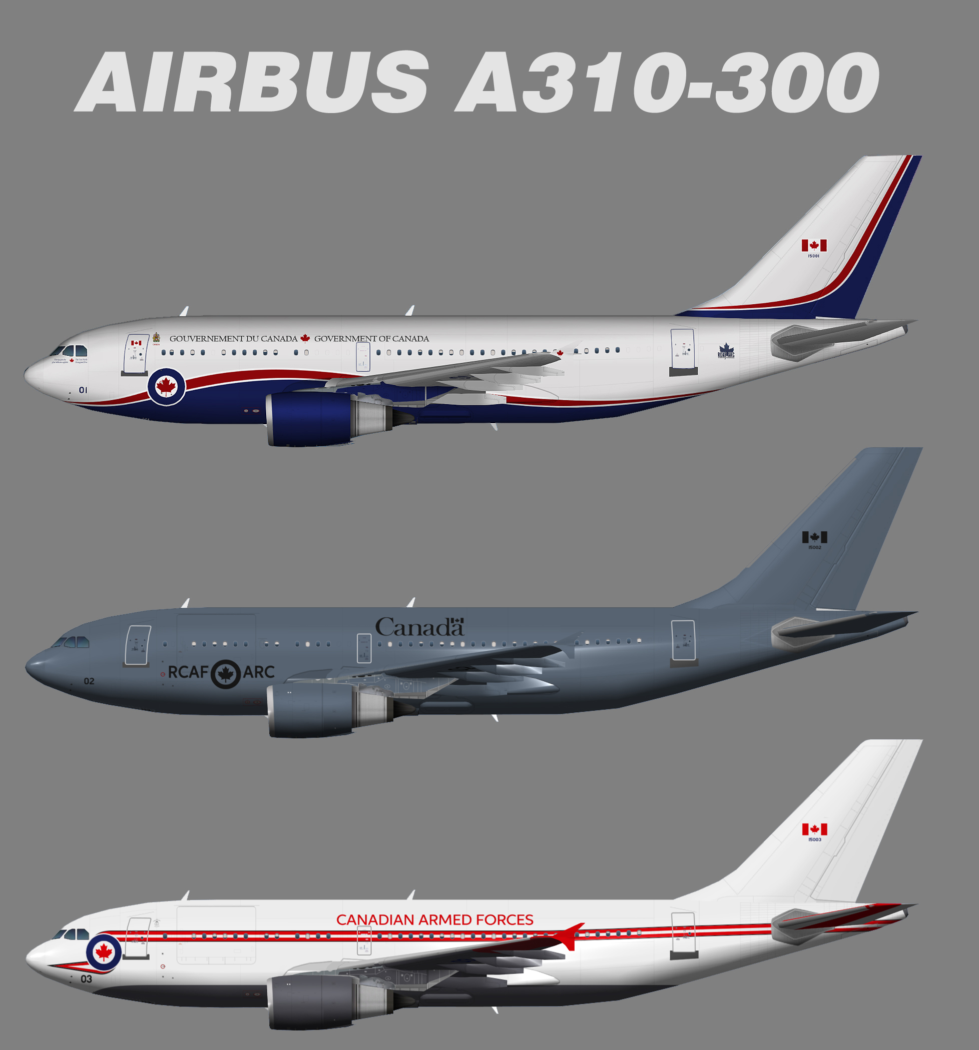Canadian Armed Forces Airbus A310-300