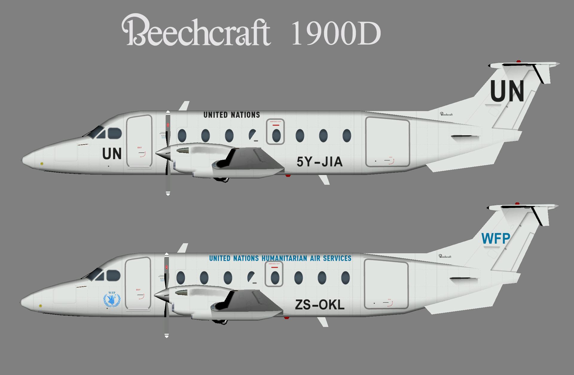 United Nations Beechcraft 1900D