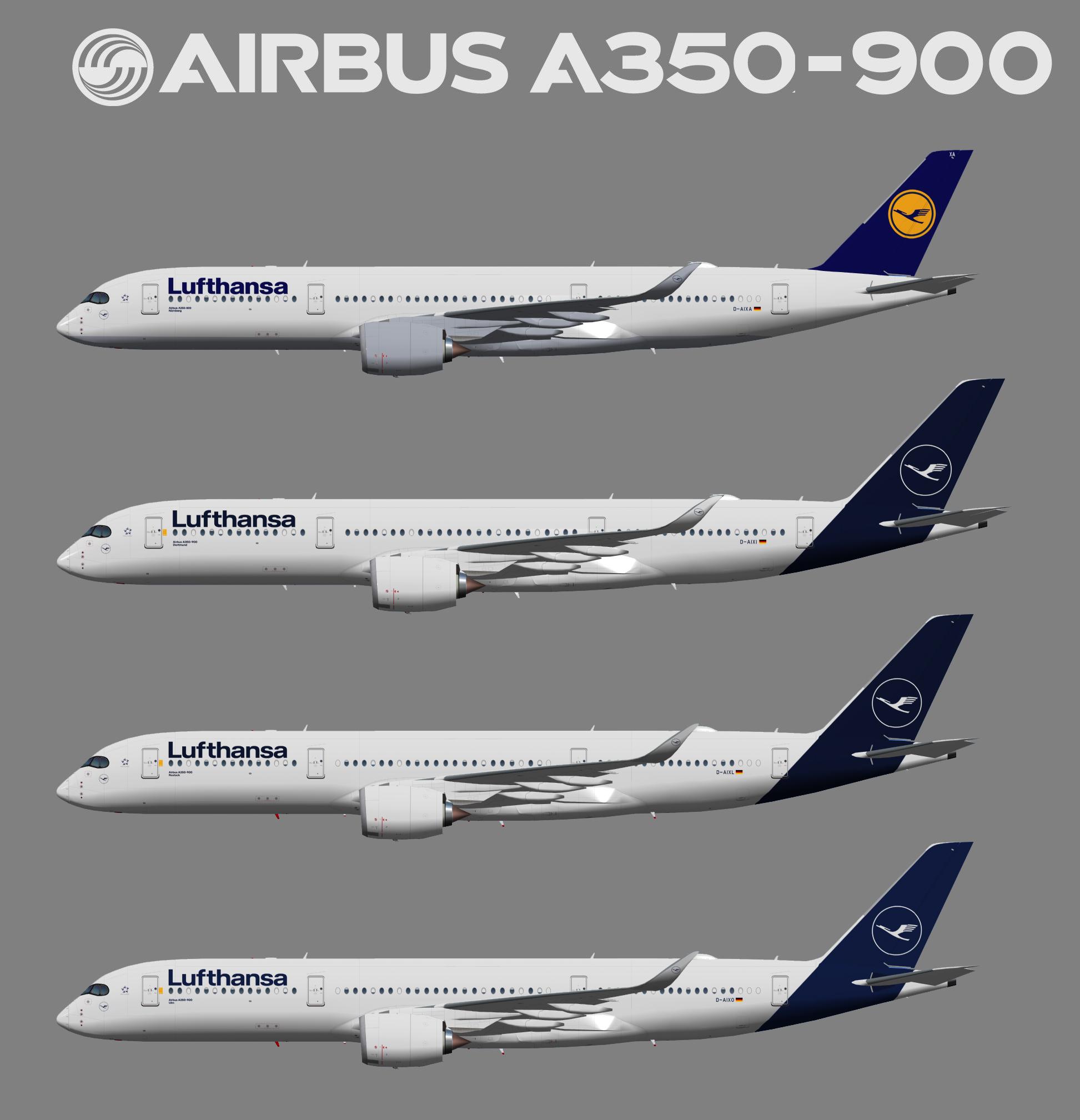 UTT Lufthansa Airbus A350-900