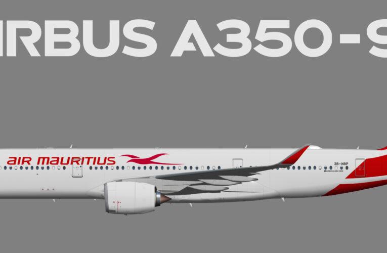 UTT Airbus A350-900 Air Mauritius