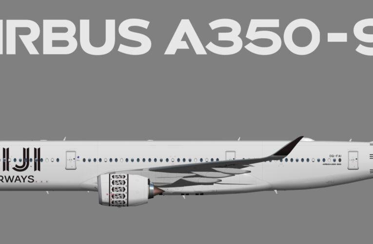 UTT Fiji Airways Airbus A350-900