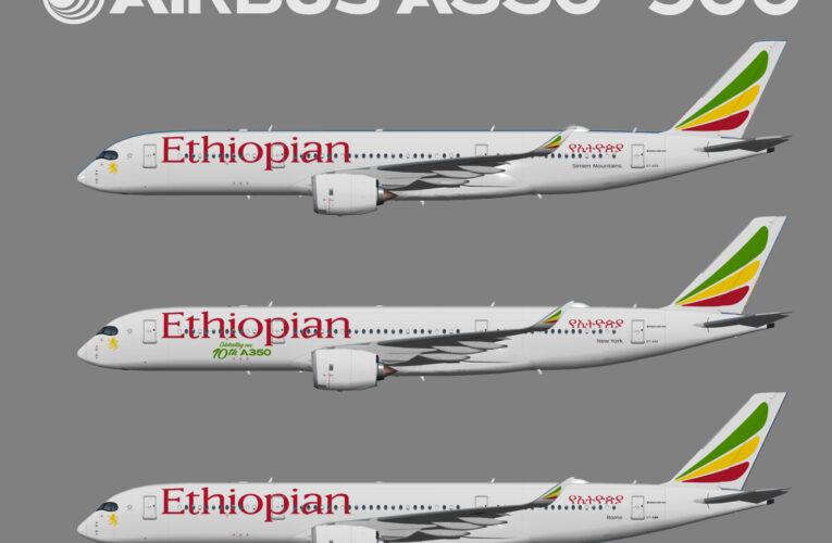 UTT Ethiopian Airlines Airbus A350-900