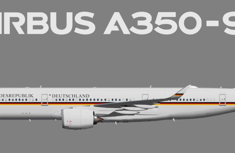 UTT Deutsche Luftwaffe Flugbereitschaft Airbus A350-900
