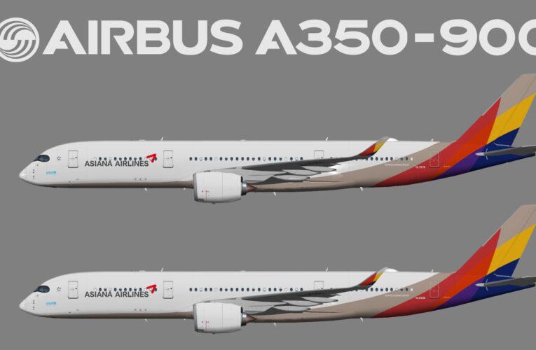 UTT Asiana Airbus A350-900