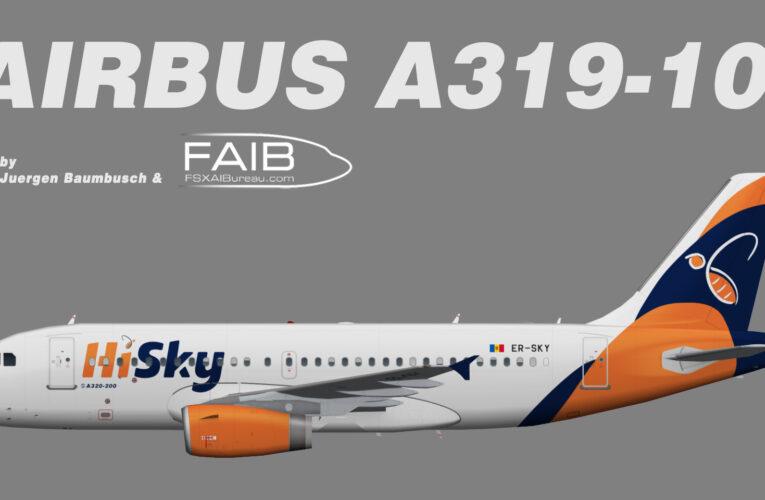 HiSky Airbus A319-100