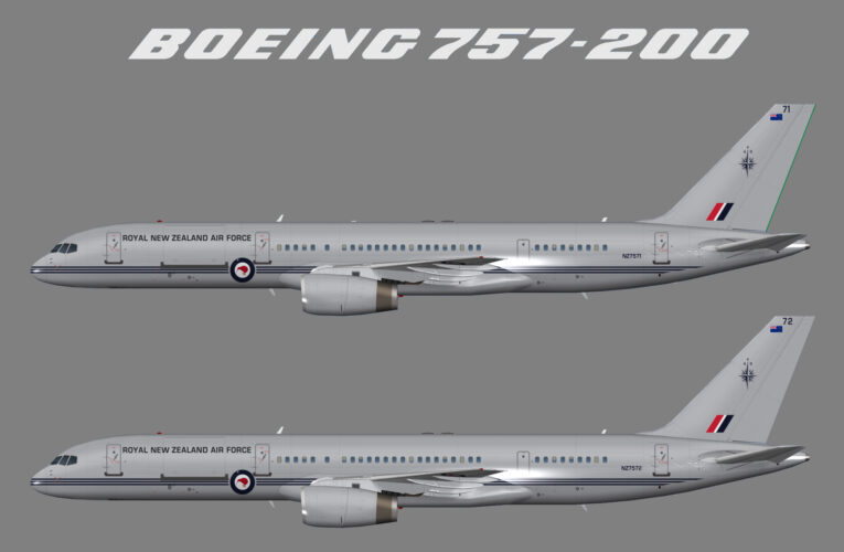 Royal New Zealand Air Force No. 40 Squadron Boeing 757-200