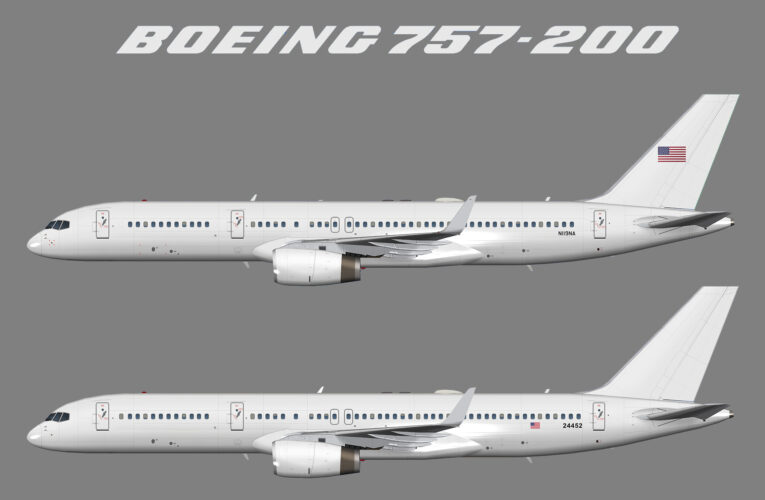 US Department of Justice Boeing 757-200w