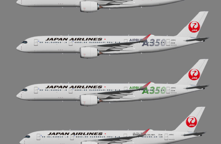 UTT Japan Air Lines (JAL) Airbus A350-900