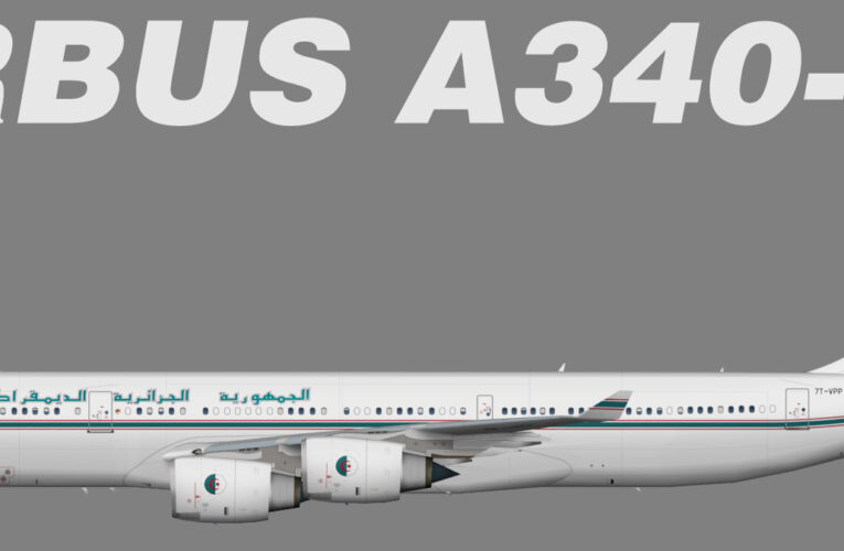 TFS Algerian Government Airbus A340-500