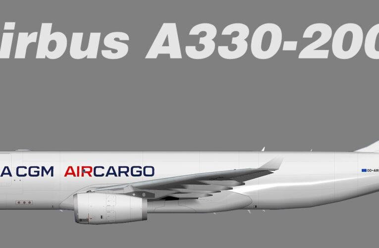 TFS CMA CGM Air Cargo Airbus A330-200F