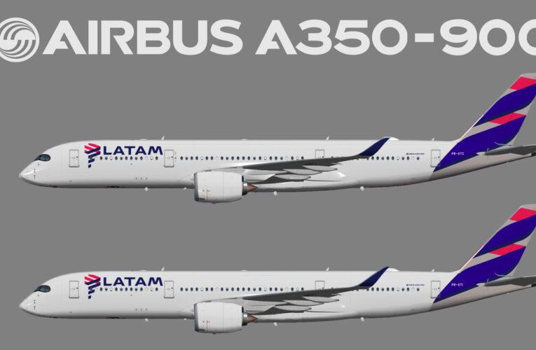 UTT  LATAM Brasil Airbus A350-900