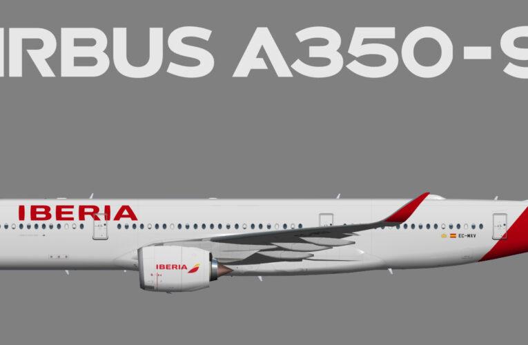 UTT Iberia Airbus A350-900