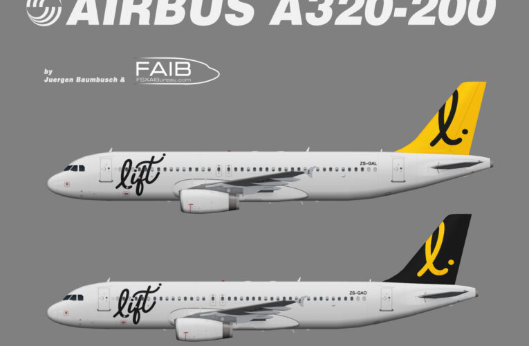 Lift Airline Airbus A320-200