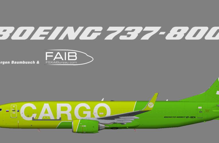 S7 Siberia Airlines Cargo Boeing 737-800 (BCF)