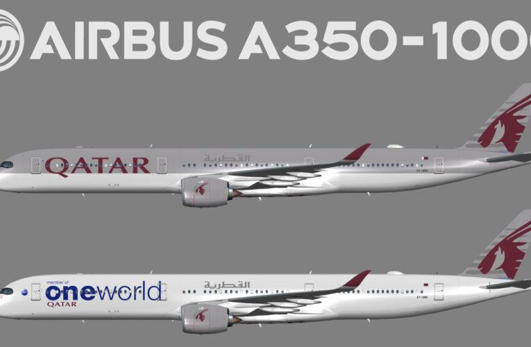 UTT Qatar Airways Airbus A350-1000