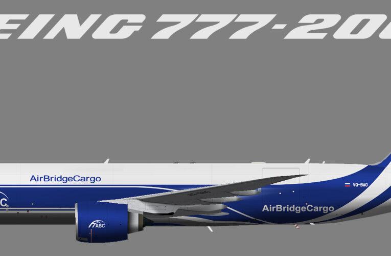 TFS AirBridge Cargo Boeing 777-200F