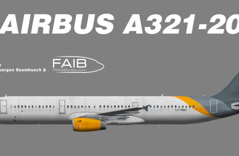 Avion Express Airbus A321-200 (opf FitsAir) LY-VEH