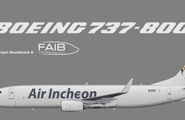 Air Incheon Boeing 737-800 (SF)