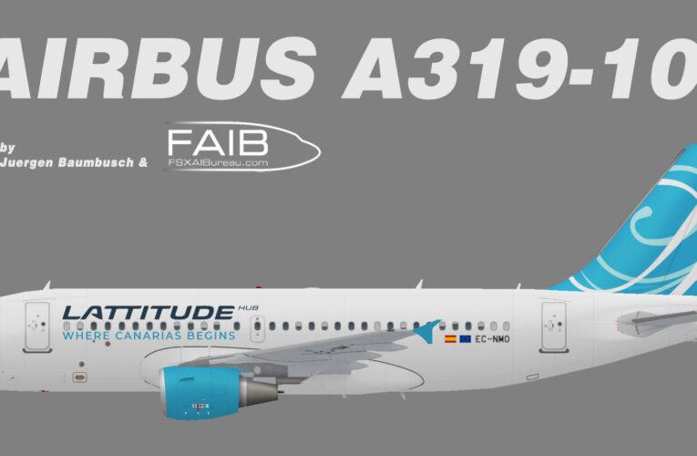 Latitude Hub Airbus A319-100 (opb Air One)