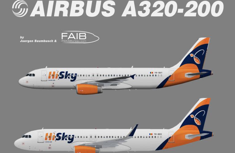 HiSky Airbus A320-200