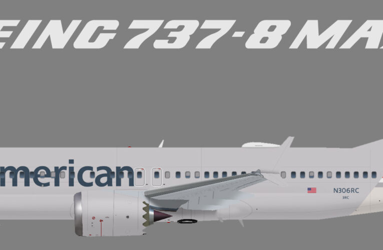 American Airlines Boeing 737 MAX8