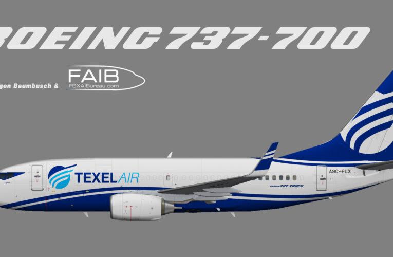 Texel Air Boeing 737-700 (QC)