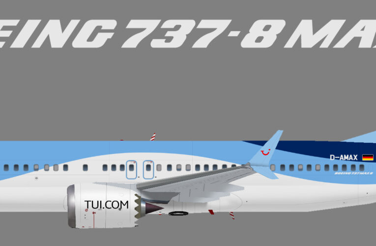 TUIfly, Boeing 737 MAX8