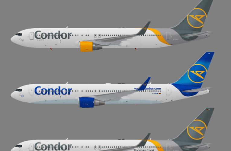 Condor Flugdienst Boeing 767-300w
